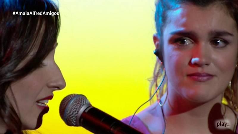 OTVisión - Amaia canta con Zahara 'Con las ganas'