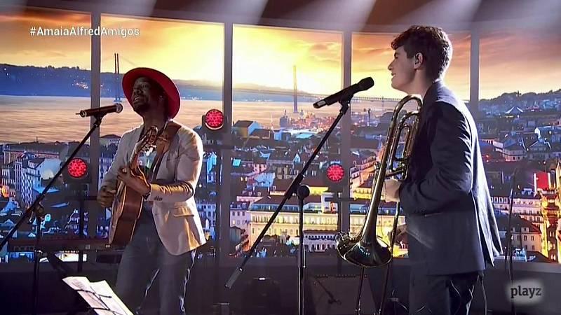 OTVisión - Alfred canta con Mel Semé 'El tiempo'