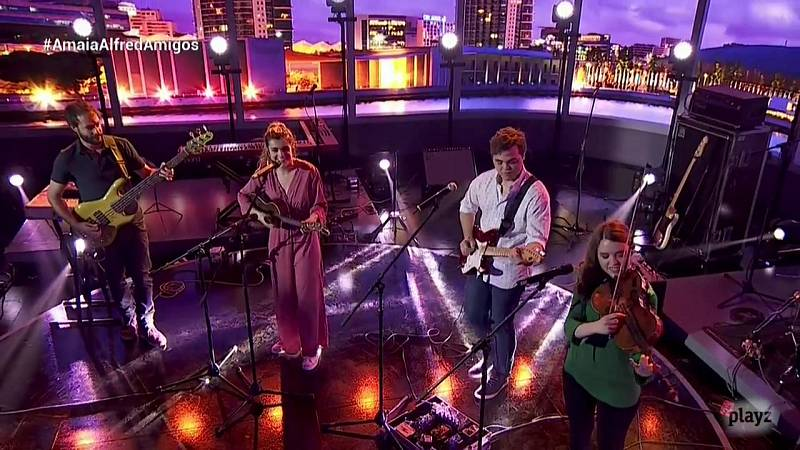 OTVisión - Amaia canta con Belize 'Egos'