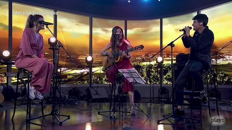 OTVisión - Amaia y Alfred cantan con Judit Neddermann 'Mireia'