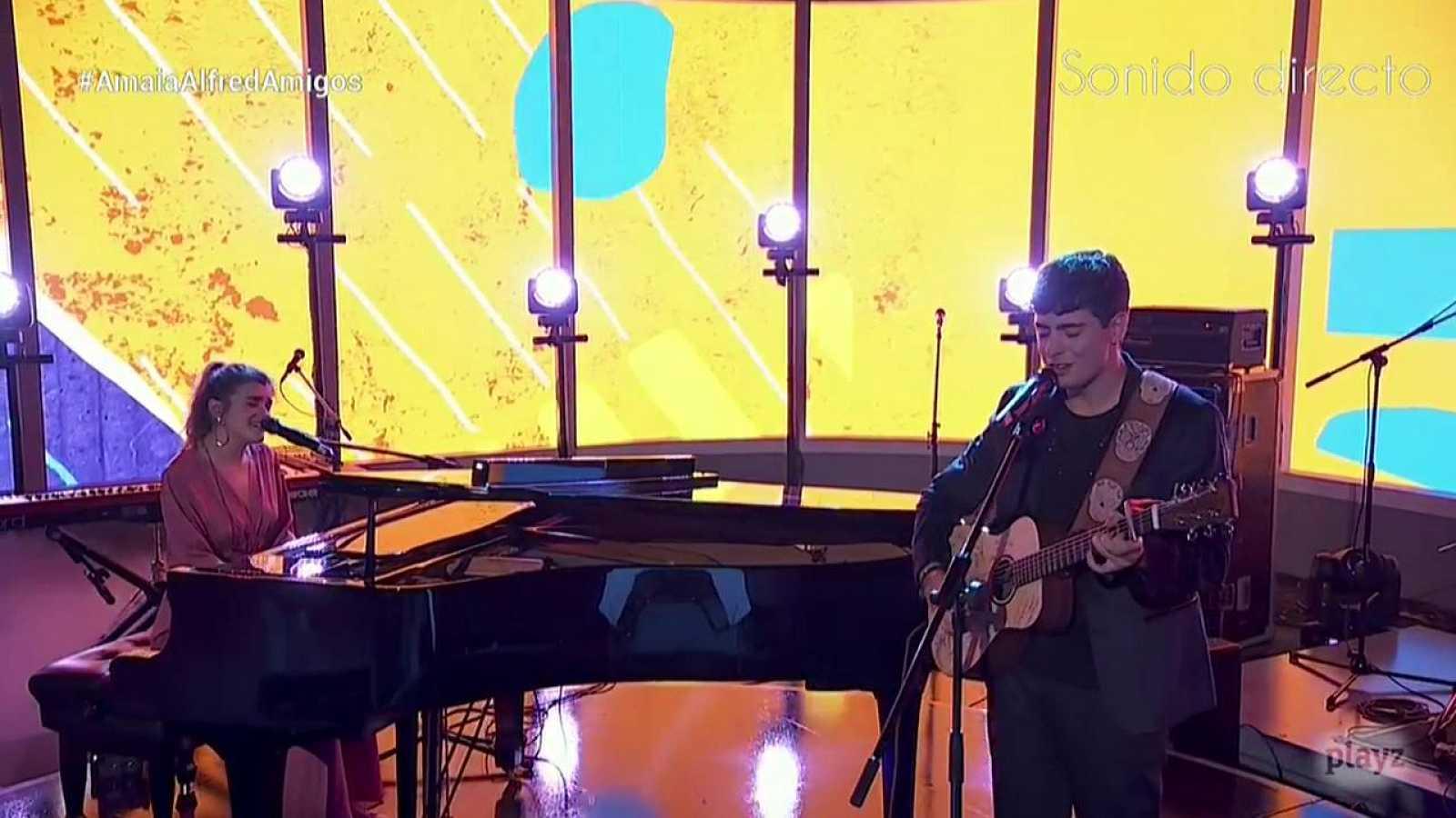 OTVisión - Amaia y Alfred cantan por primera vez 'Your song', la versión en inglés de 'Tu canción'