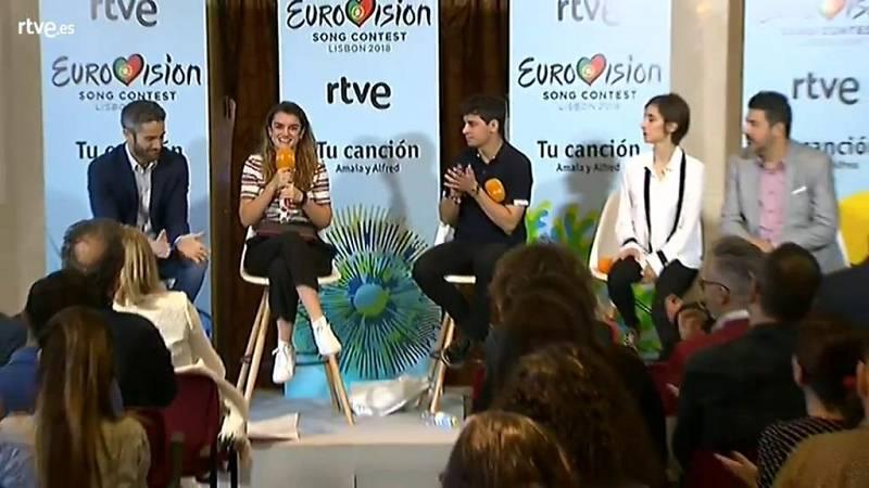 """Eurovisión 2018 - Amaia: """"Esto es lo que importamos las mujeres en este país"""""""
