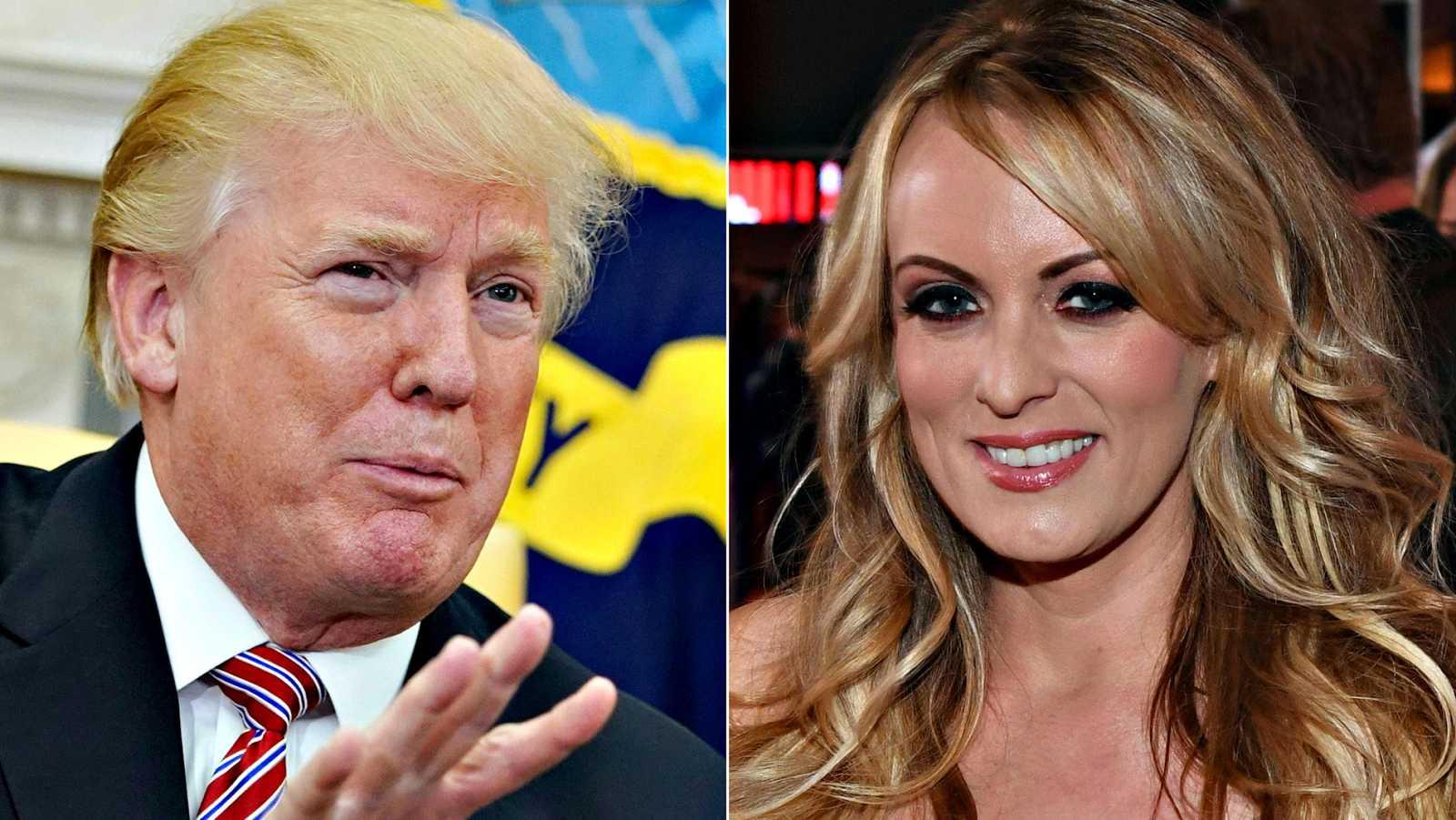 Trump se desdice y admite que sabía que su abogado su abogado pagó a la actriz porno Stormy Daniels por su silencio