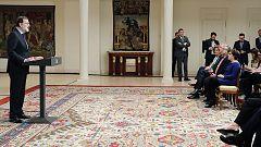 Declaración íntegra de Rajoy tras la disolución de ETA