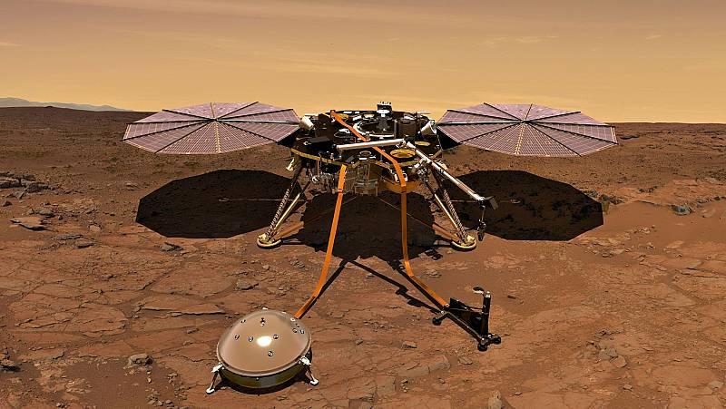 La misión 'Insight' de la NASA explorará el interior de Marte