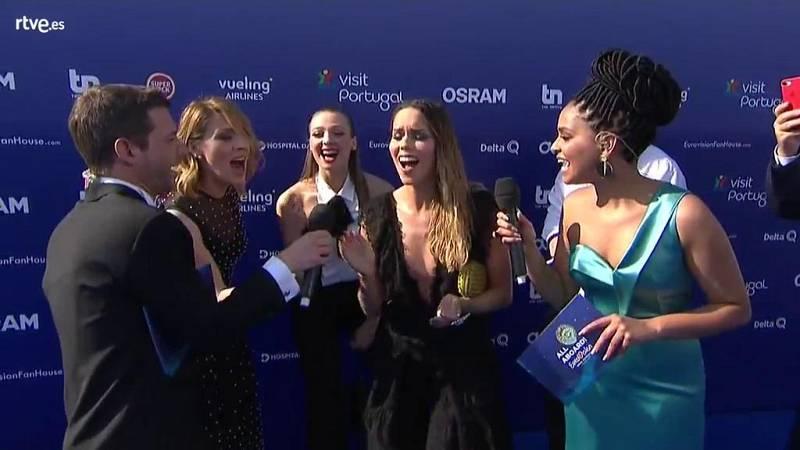 Eurovisión 2018 - Alfombra Azul del Festival de Eurovisión desde Lisboa