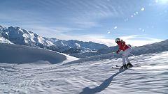 Tribus viajeras - Esquiadores en el Valle del Tena