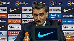"""Valverde: """"Con el VAR todavía estaríamos jugando"""""""
