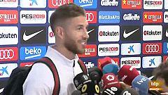 """Sergio Ramos: """"Le han dicho de todo al árbitro en el túnel"""""""