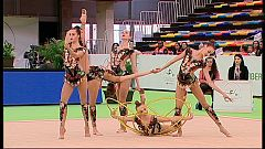 Gimnasia rítmica - Copa del Mundo Iberdrola 2018: Final Conjuntos 5 Aros