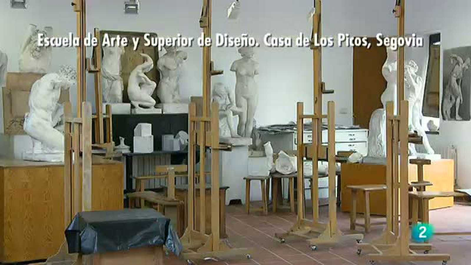 La Aventura del Saber.  Escuela Artes Casa de los Picos