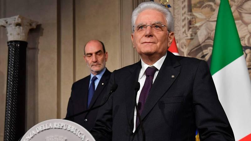 """El presidente de Italia propone un Gobierno """"neutral"""" para esquivar la repetición de elecciones"""