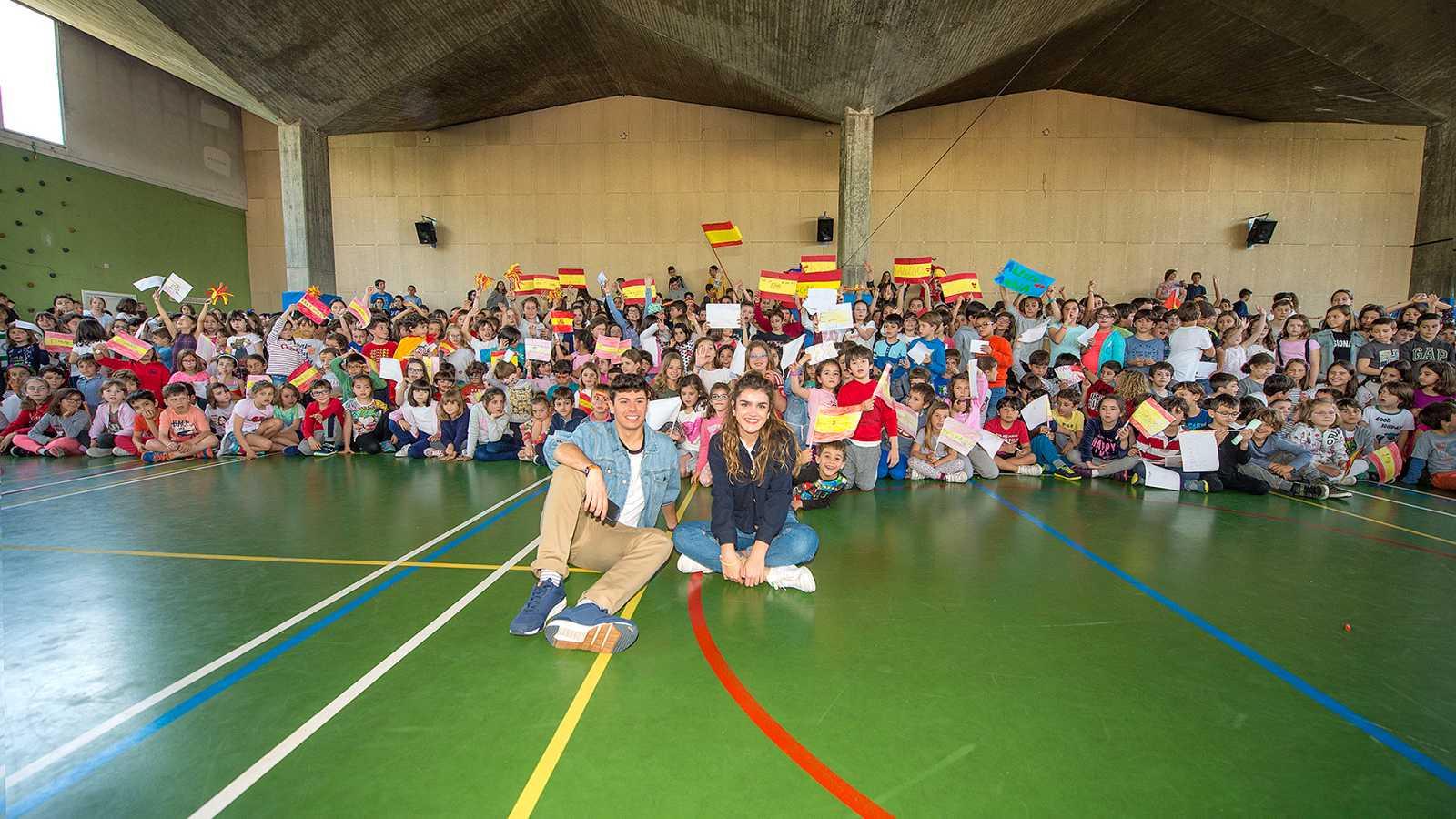 Eurovisión 2018 - Vuelve a ver OTVisión con Amaia y Alfred en un colegio de Portugal y el análisis de su vestuario