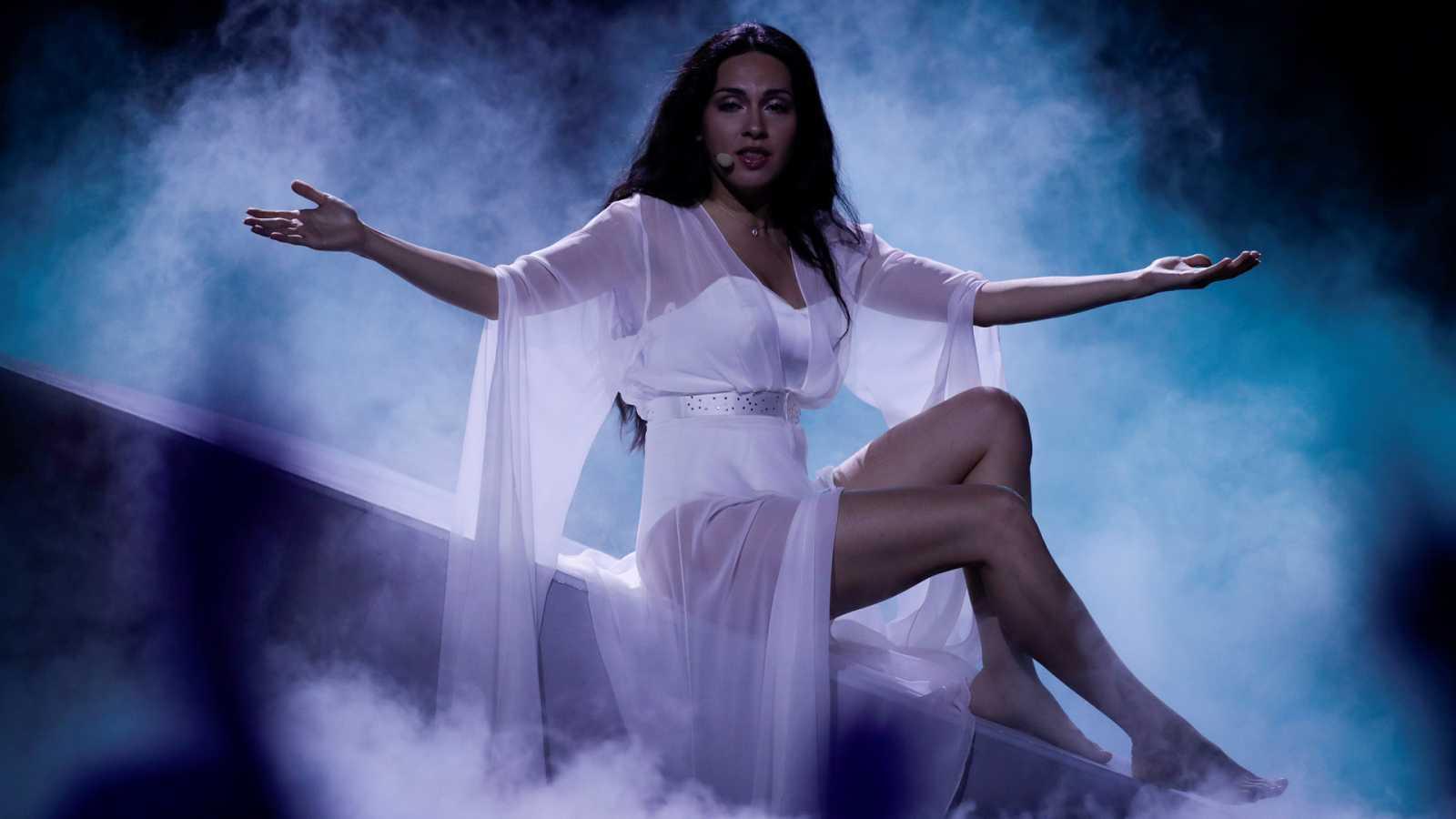 """Eurovisión - Azerbaiyán: Aisel canta """"X my heart"""" en la primera semifinal de Eurovisión 2018"""