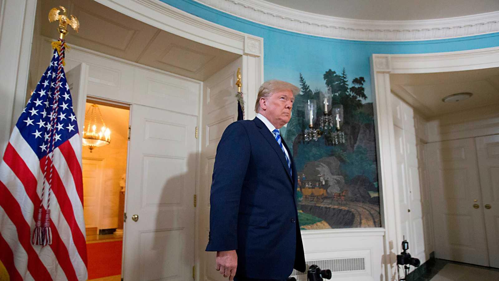 Trump anuncia que EE.UU. abandona el pacto nuclear con Irán