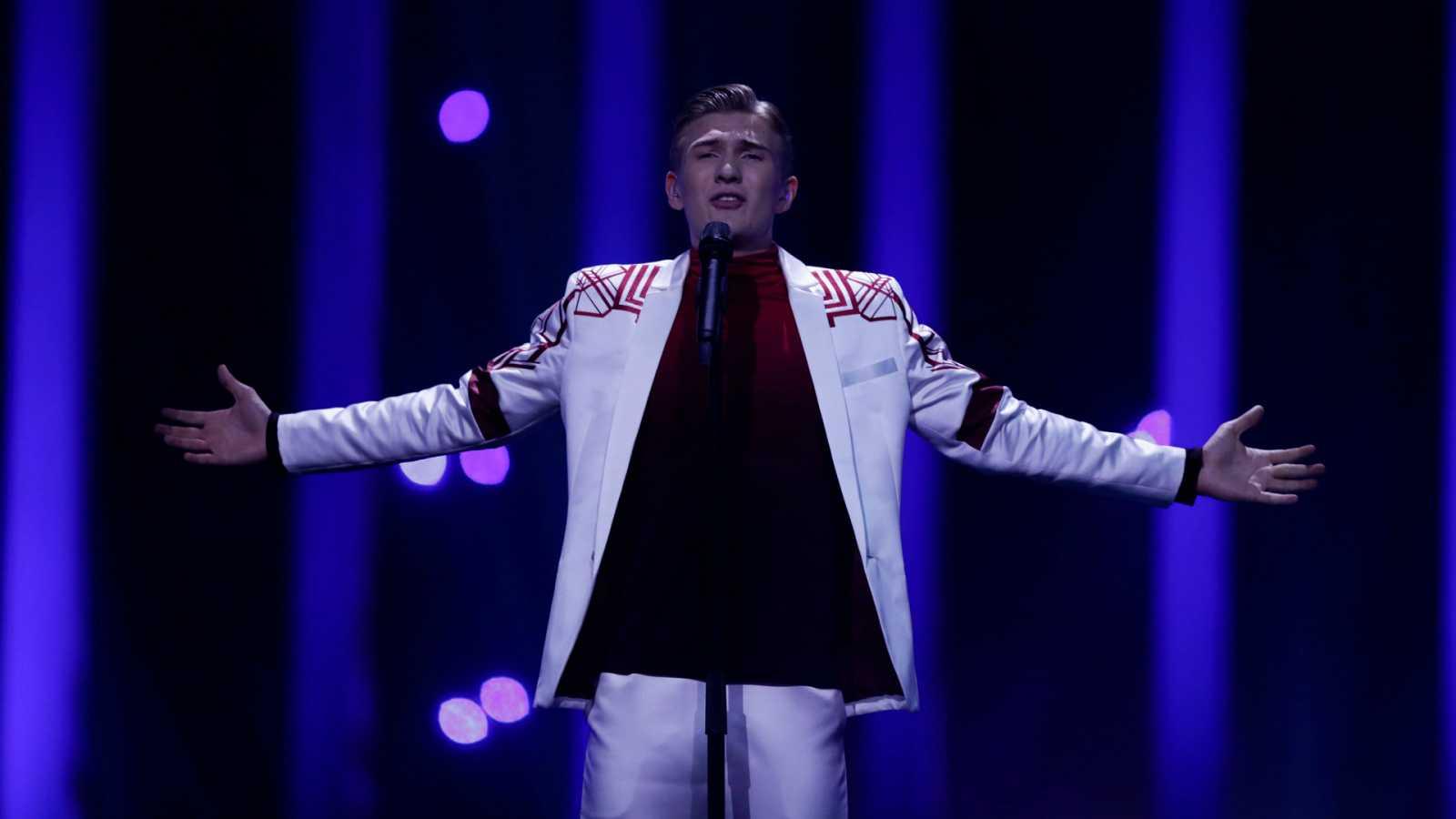 """Eurovisión - Islandia: Ari Ólafsson canta """"Our choice"""" en la primera semifinal de Eurovisión 2018"""