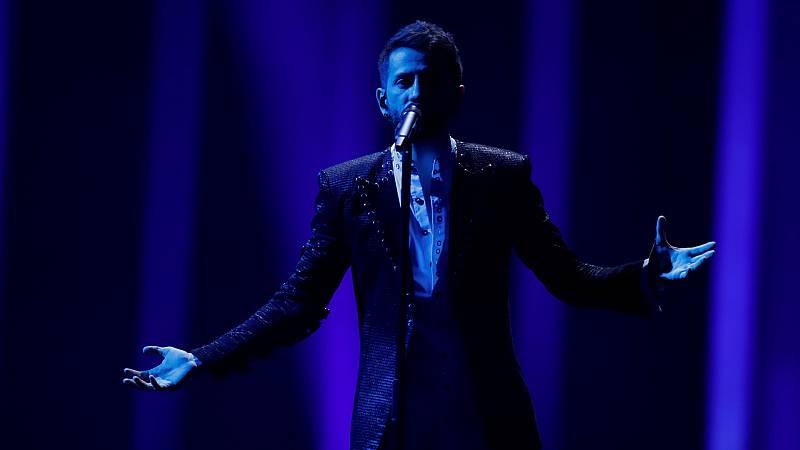 """Eurovisión - Albania: Eugent Bushpepa canta """"Mall"""" en la primera semifinal de Eurovisión 2018"""