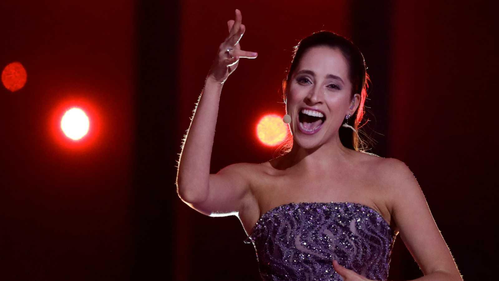 """Eurovisión - Estonia: Elina Nechayeva canta """"La forza"""" en la primera semifinal de Eurovisión 2018"""