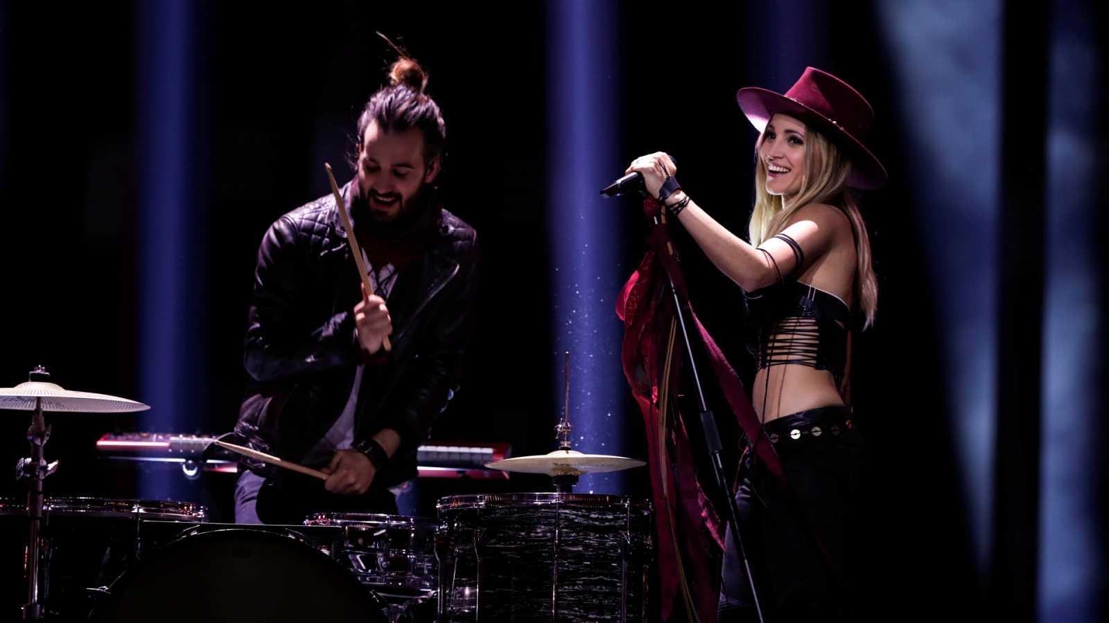 "Eurovisión - Suiza: Zibbz canta ""Stones"" en la primera semifinal de Eurovisión 2018"