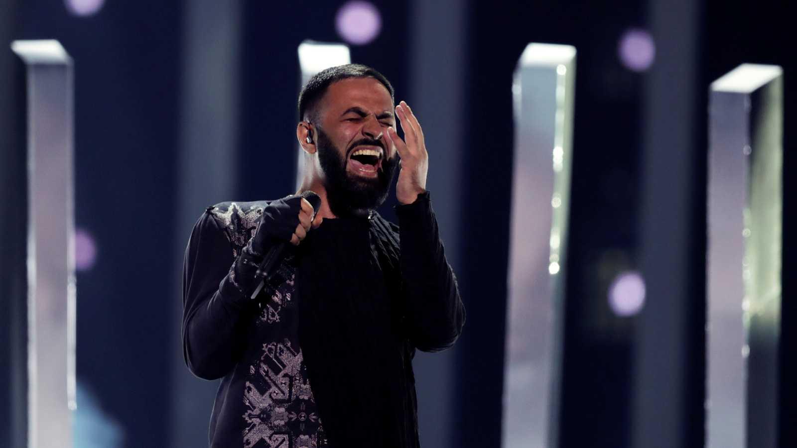 """Eurovisión - Armenia: Sevak Khanagyan canta """"Qami"""" en la primera semifinal de Eurovisión 2018"""