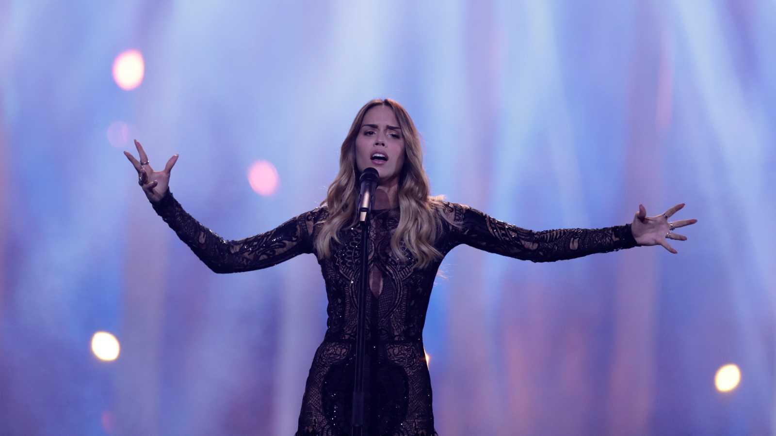 """Eurovisión - Croacia: Franka Batelic canta """"Crazy"""" en la primera semifinal de Eurovisión 2018"""