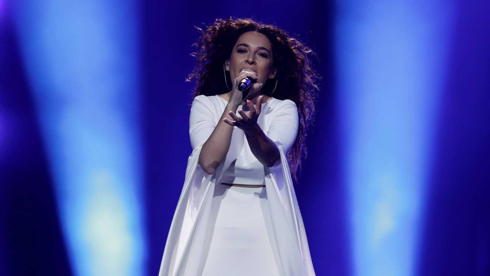 """Eurovisión - Grecia: Gianna Terzi canta """"Oneiro Mou"""" en la primera semifinal de Eurovisión 2018"""