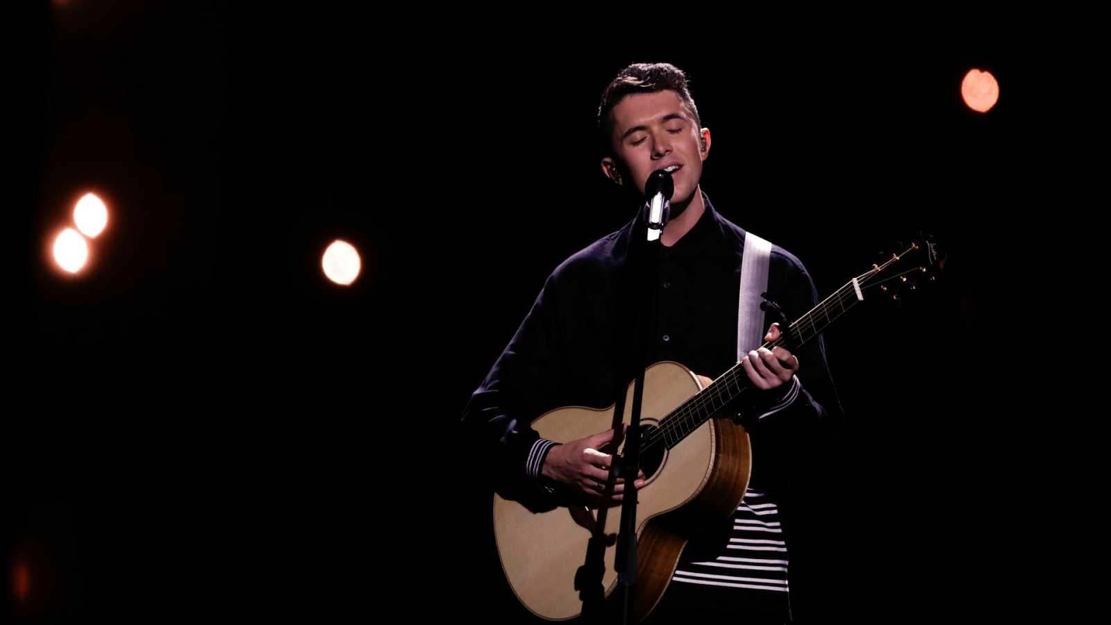 """Eurovisión - Irlanda: Ryan O'Shaughnessy canta """"Together"""" en la primera semifinal de Eurovisión 2018"""