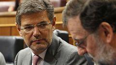 """Catalá, en el Congreso: """"Si a una mujer cinco personas le roban un móvil ha habido intimidación"""""""