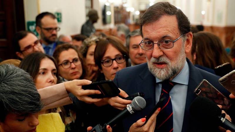 """Rajoy pide al independentismo no """"subordinar"""" su actuación a la voluntad de Puigdemont"""