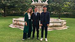 España Directo - Amaia y Alfred, recibidos por el embajador de España en Lisboa