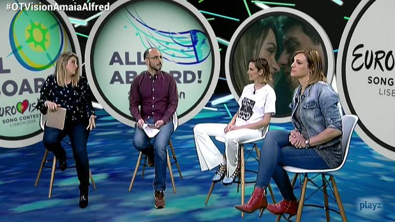 """Eurovisión 2018 - Brisa Fenoy sobre """"Tu canción"""": """"El amor es algo universal y positivo"""""""