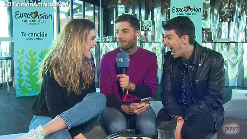 """Eurovisión 2018 - Amaia y Alfred: """"Nuestra actuación es amor y magia"""""""