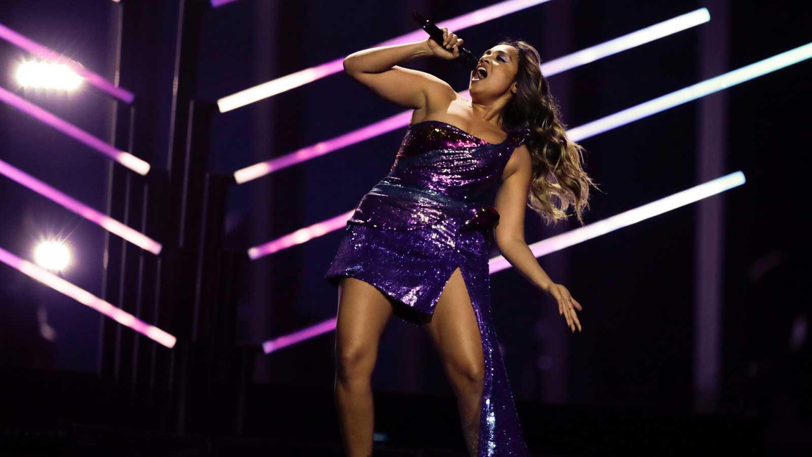 """Eurovisión - Australia: Jessica Mauboy canta """"We got love"""" en la segunda semifinal de Eurovisión 2018"""