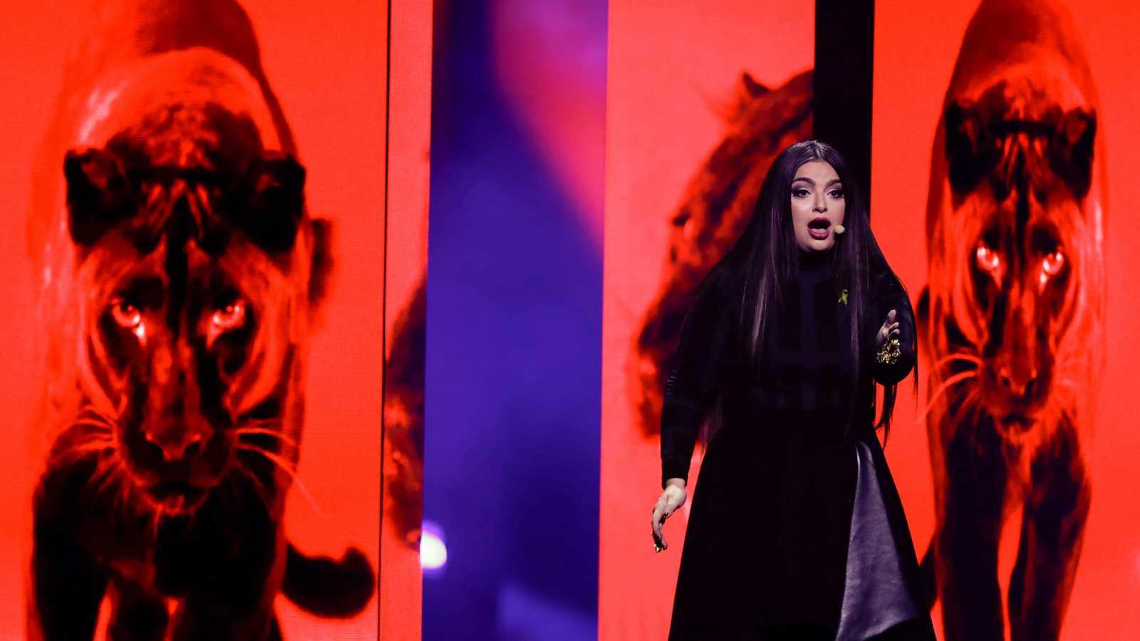 """Eurovisión - Malta: Christabelle canta """"Taboo"""" en la segunda semifinal de Eurovisión 2018"""