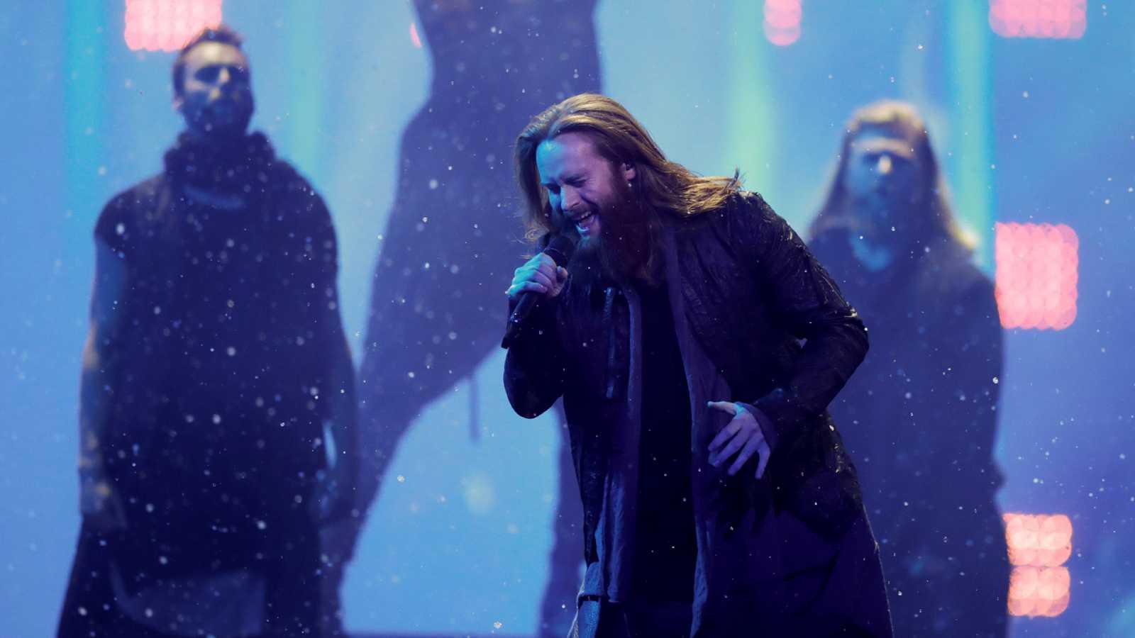 """Eurovisión - Dinamarca: Rasmussen canta """"Higher Ground"""" en la segunda semifinal de Eurovisión 2018"""