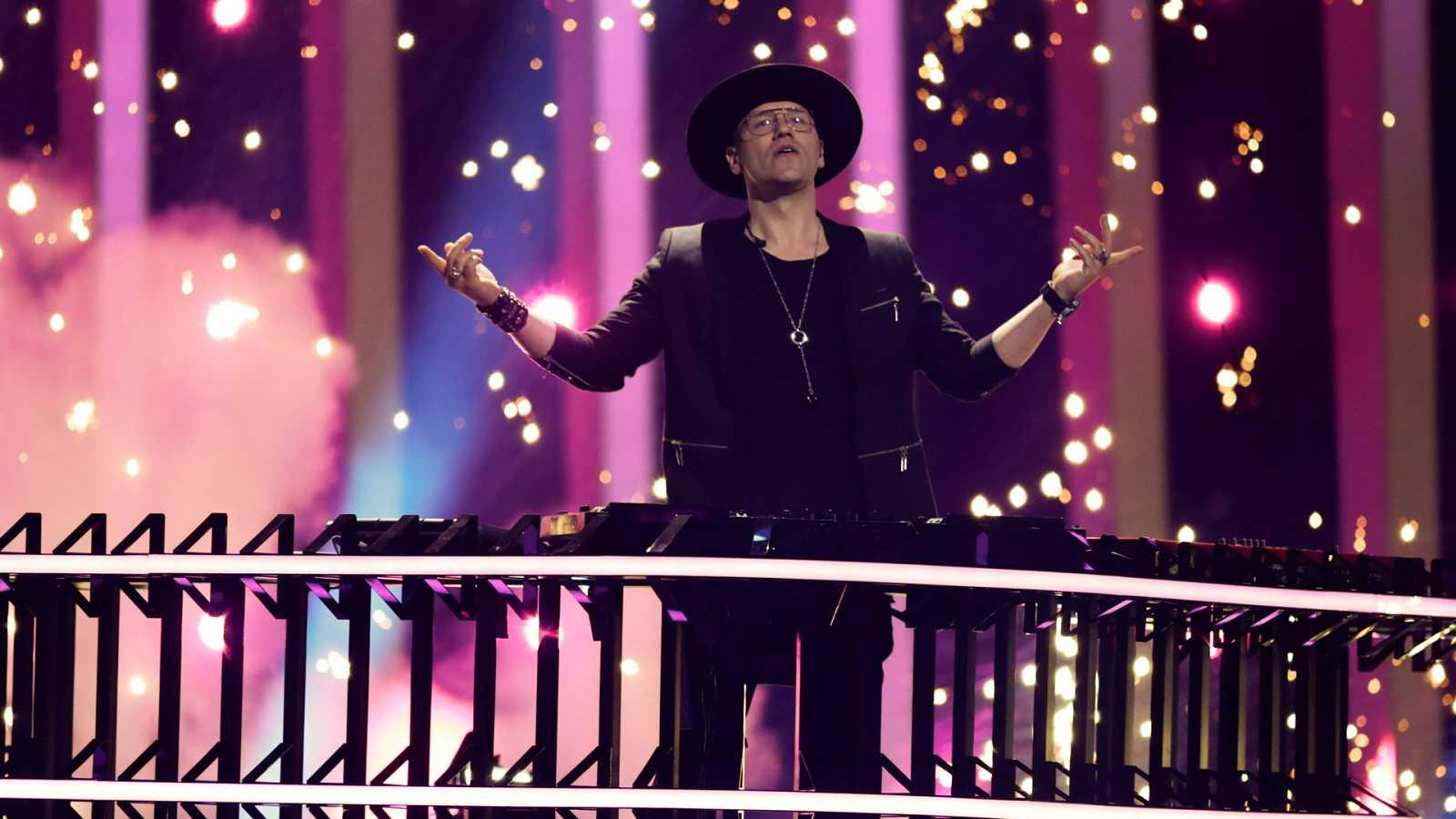 "Eurovisión - Polonia: Gromee y Lukas Meijer canta ""Light me up"" en la segunda semifinal de Eurovisión 2018"
