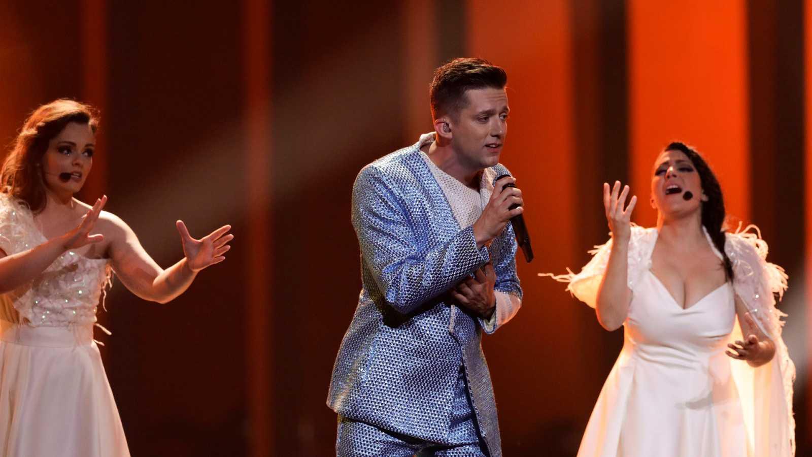 "Eurovisión - Montenegro: Vanja Radovanovic canta ""Inje"" en la segunda semifinal de Eurovisión 2018"