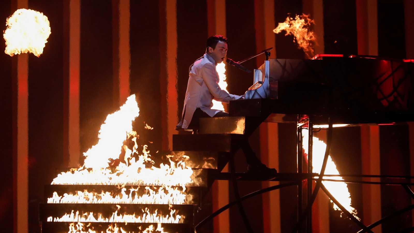 """Eurovisión - Ucrania: Melovin canta """"Under the Ladder"""" en la segunda semifinal de Eurovisión 2018"""
