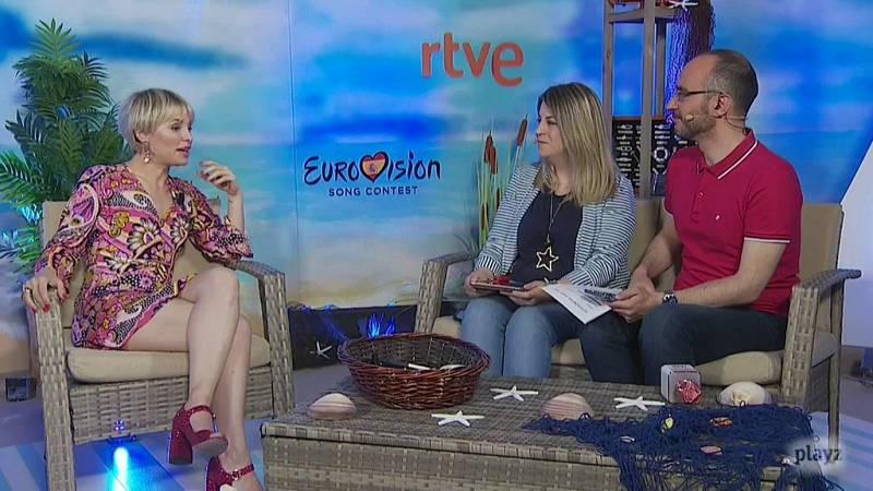 """Eurovisión - Soraya Arnelas: """"Este año no estoy representando a España, pero es inevitable emocionarte"""""""