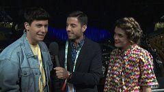 Eurovisión - Amaia y Alfred, tranquilos momentos antes de la final