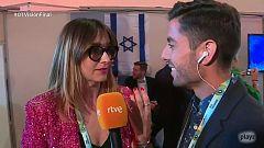 """Eurovisión - Noemí Galera: """"Estoy como una moto de carreras"""""""