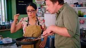 El club de lucha gastronómica de Jamie y Jimmy: Salma Hayek