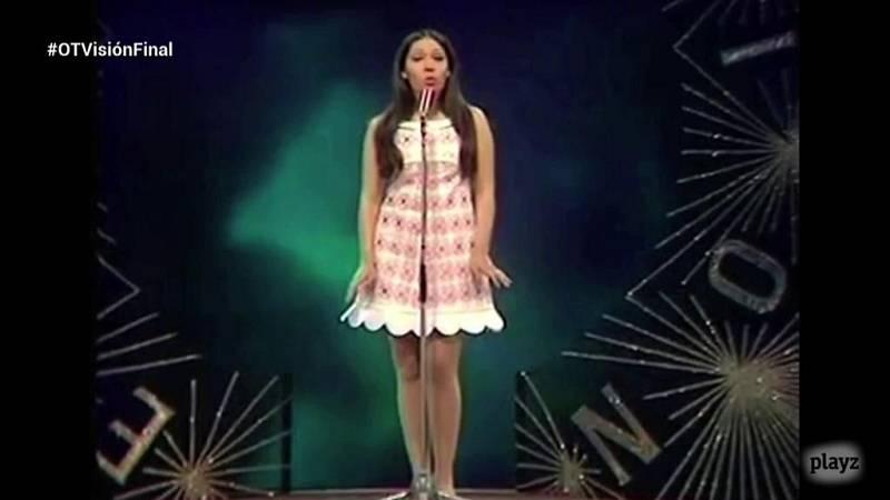 Eurovisión 2018 - El traje de Massiel, expuesto en el Museo del Traje