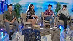 """Eurovisión - Christian Sánchez y Michelle Calvó presentan """"Cupido"""""""