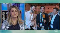 """Eurovisión - Tinet Rubira: """"Amaia y Alfred están muy tranquilos"""""""