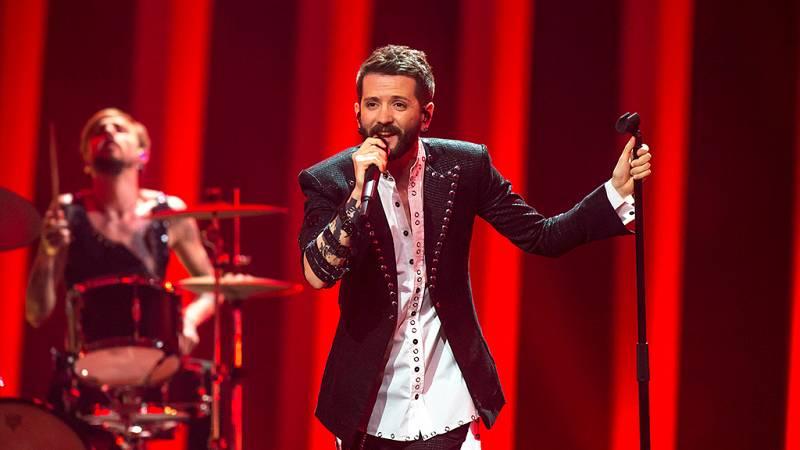 """Eurovisión - Albania: Eugent Bushpepa canta """"Mall"""" en la final de Eurovisión 2018"""