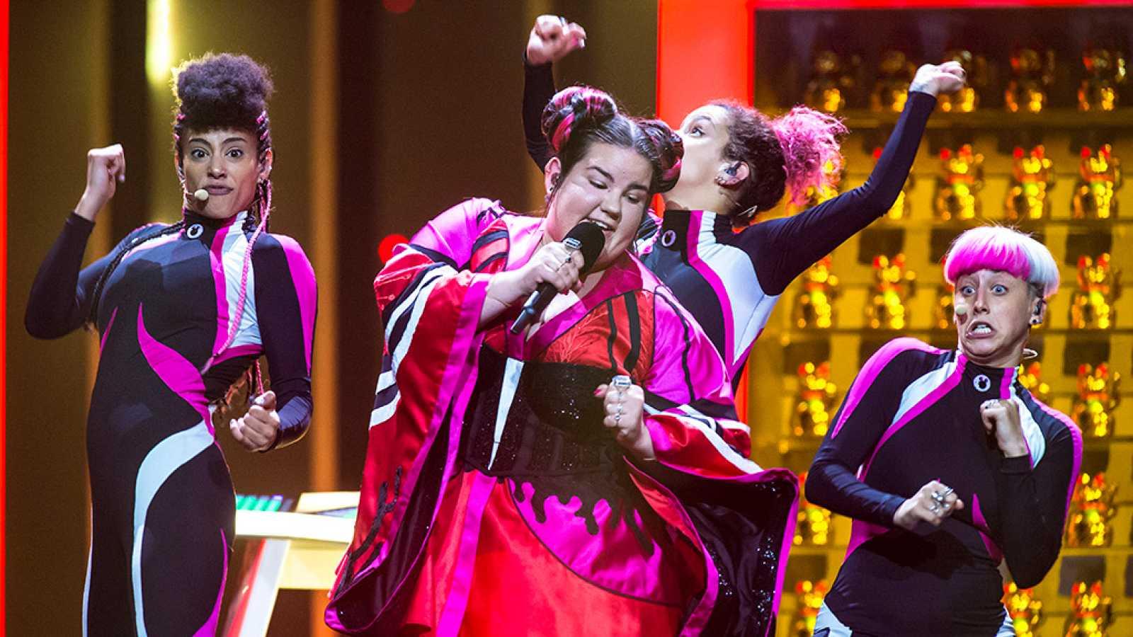 """Eurovisión - Israel: Netta Barzilai canta """"Toy"""" en la final de Eurovisión 2018"""