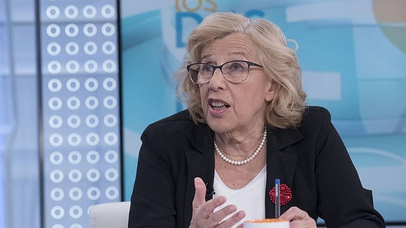 """Carmena no desvela si repetirá como candidata a la Alcaldía de Madrid pero reconoce que se siente """"bien y con fuerzas"""""""