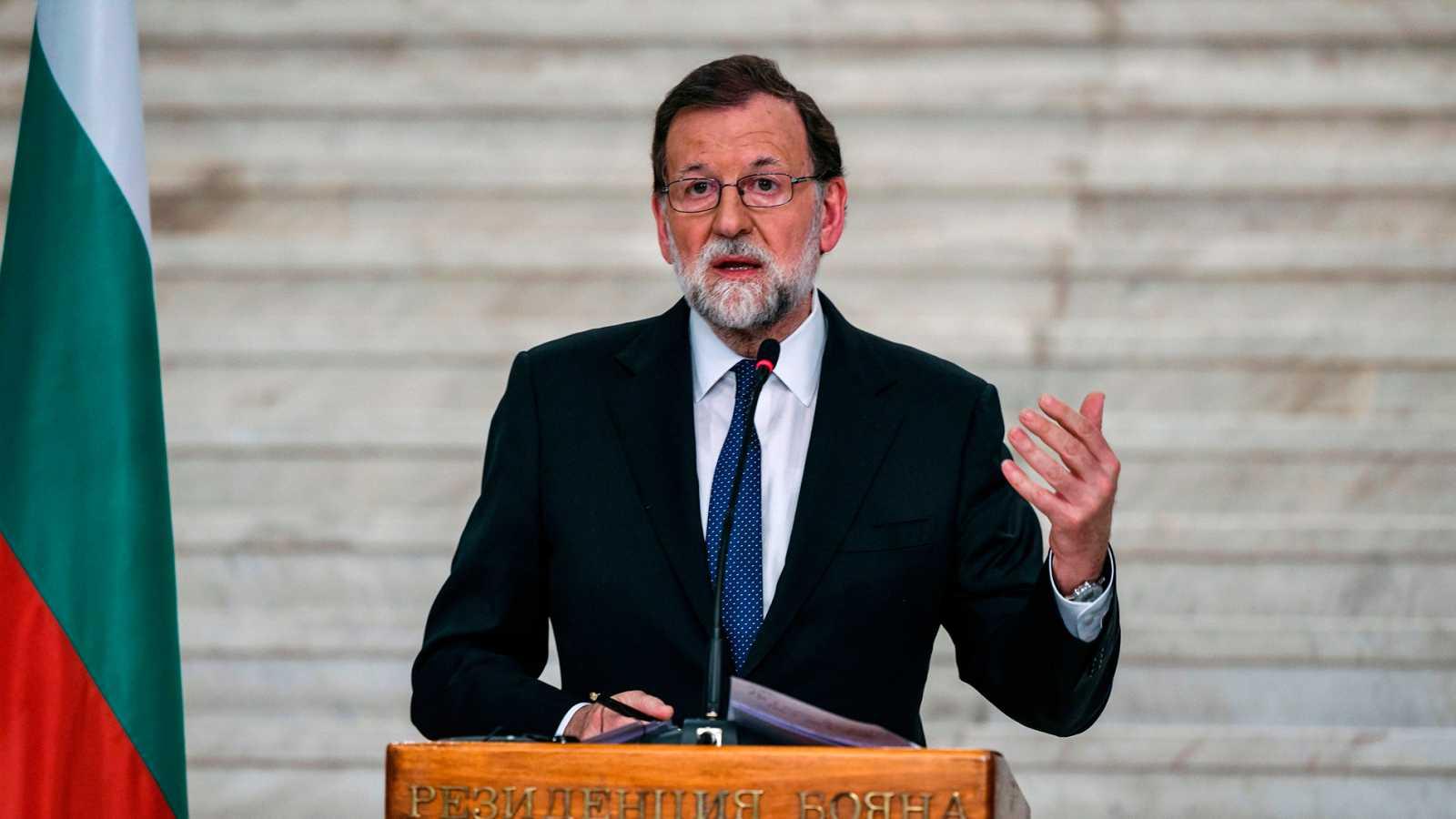 """Rajoy advierte a Torra que """"solo puede haber un presidente"""" y se muestra dispuesto a dialogar"""