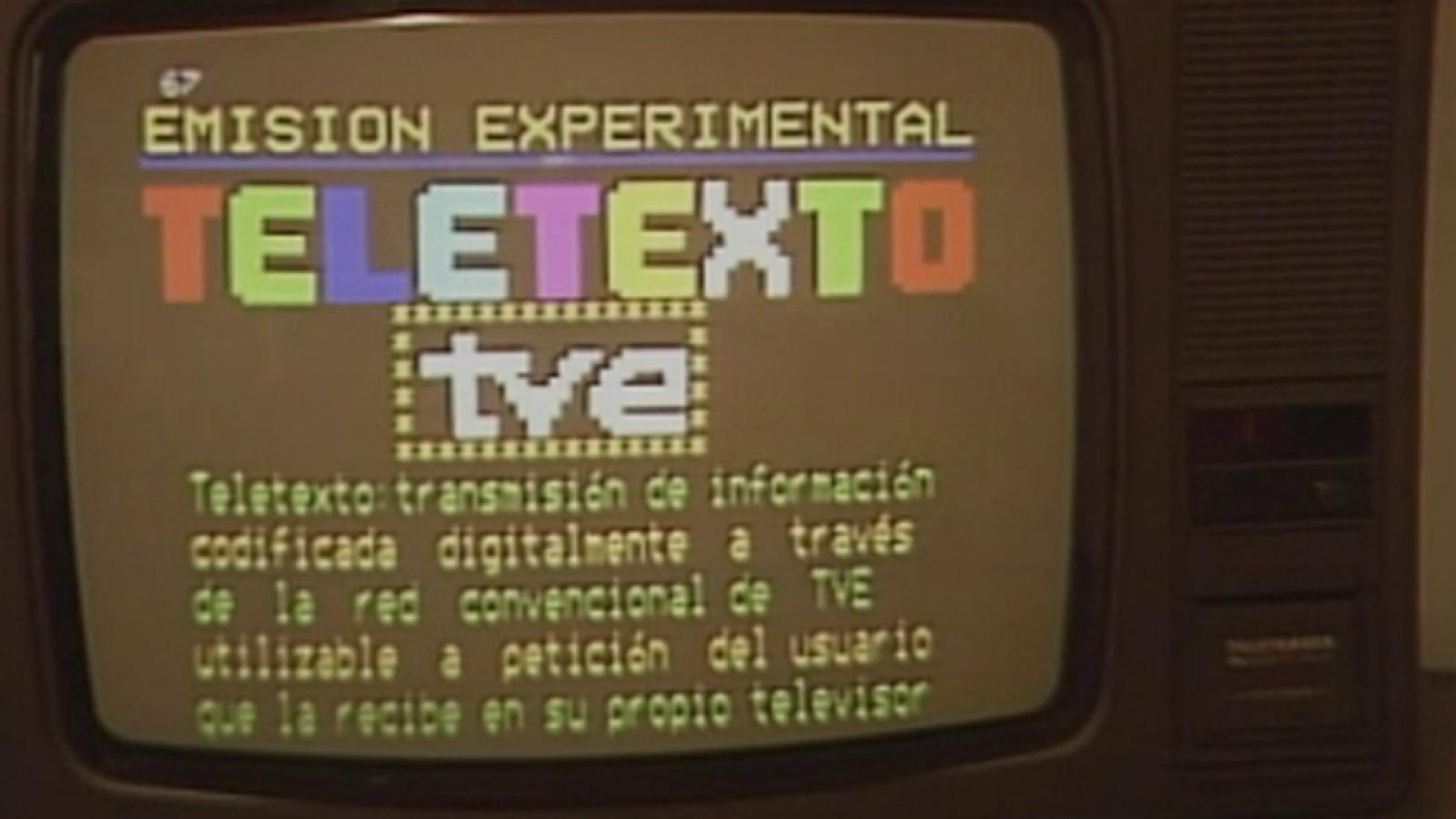 La llegada del teletexto a TVE
